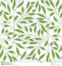 Leaf Floral Abstract Seamless Vector Background Stock ...