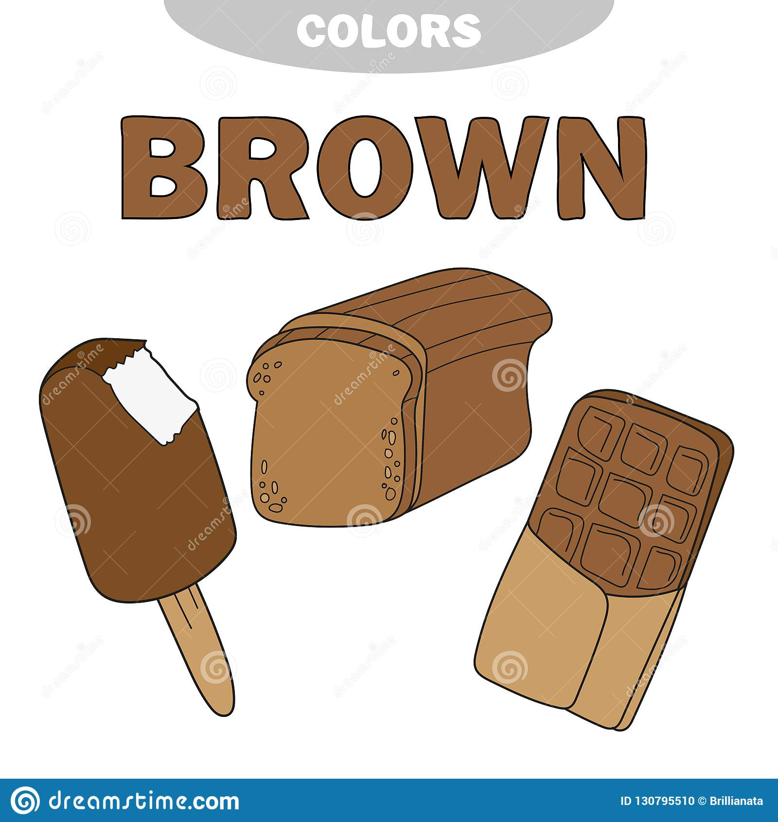 Learn The Color Brown