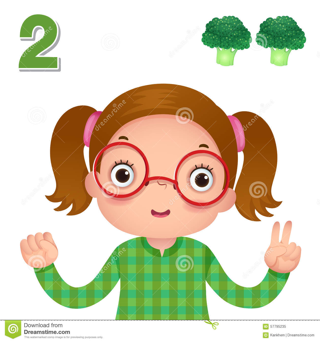 Learn Number And Counting With Kid S Hand Showing The