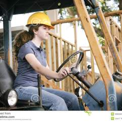 Living Room Themes Modern French Country Style Decorating Ideas Learning To Drive Bulldozer Stock Photo - Image: 40925640