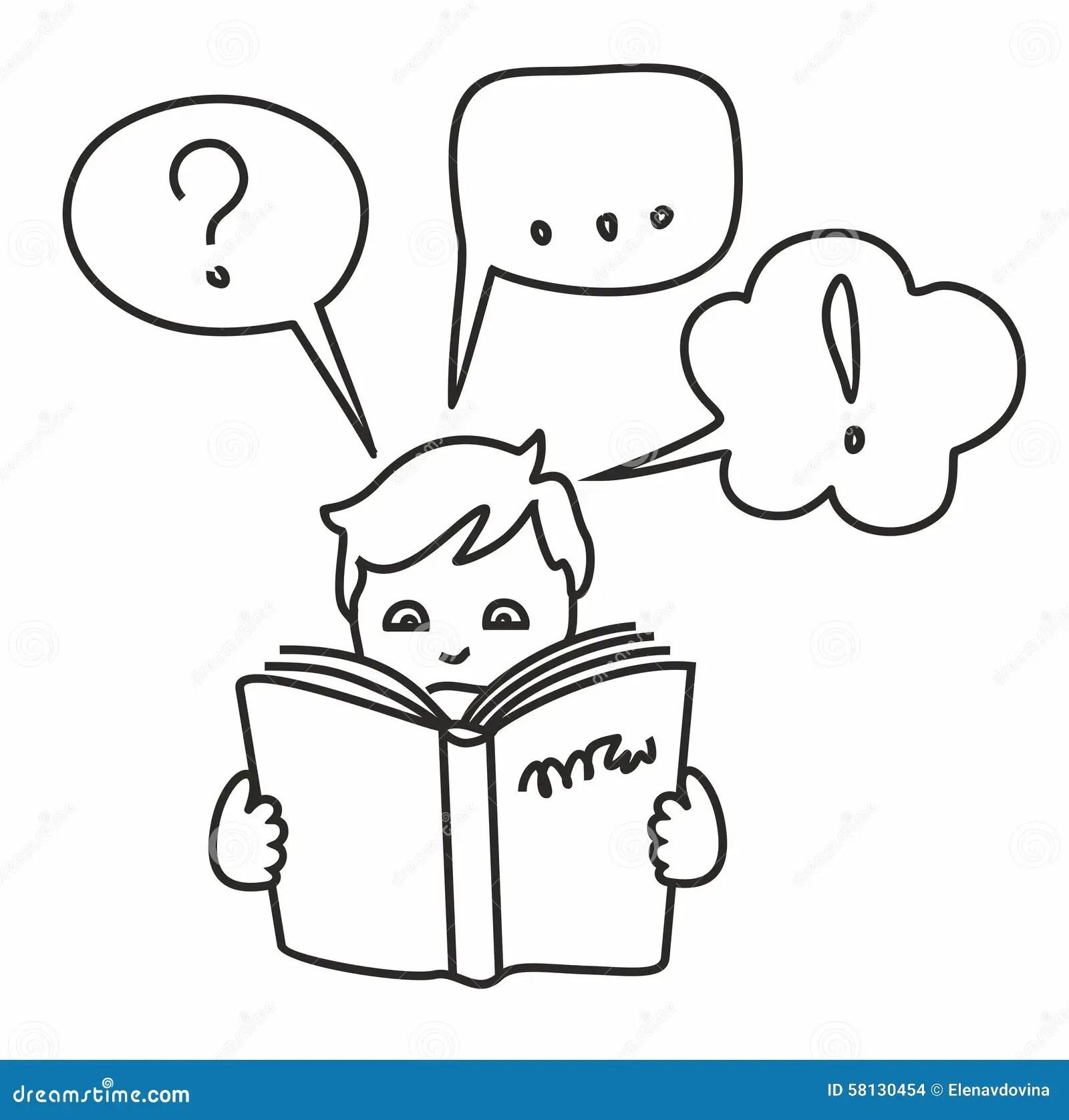 Lees Een Boek, Krijg Informatie, Vragen, Antwoorden