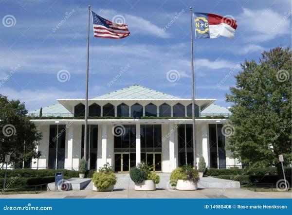 Legislative Building Raleigh North Carolina. Editorial
