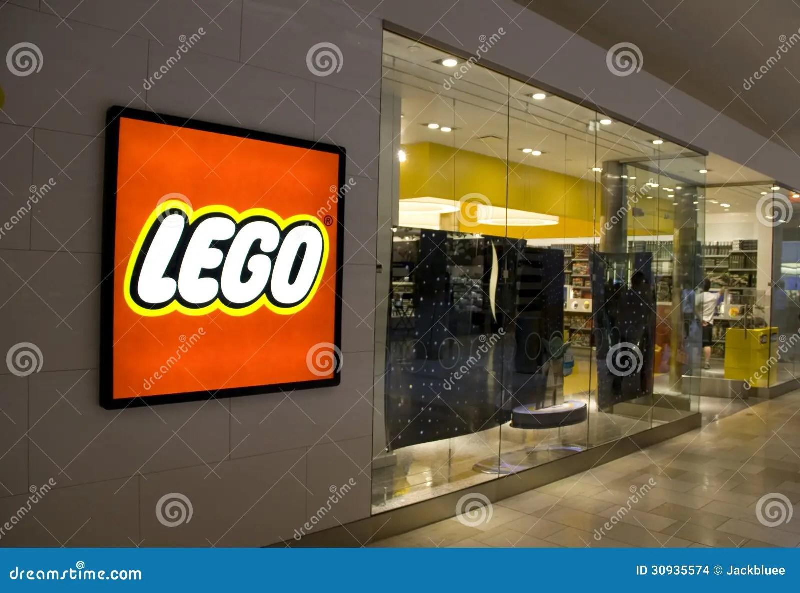 Lego Store Editorial Stock Image Image 30935574