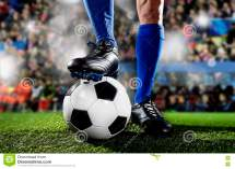 Football Players Feet and Socks