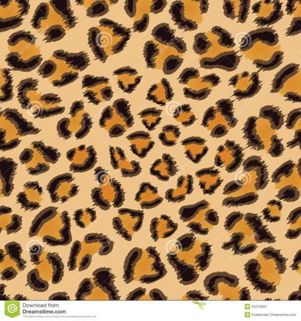 Leopard Seamless Pattern Royalty Free Stock