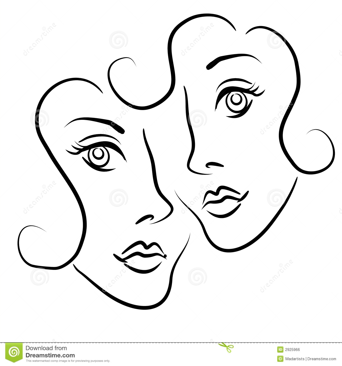 Lesbian Cartoons Illustrations Amp Vector Stock Images