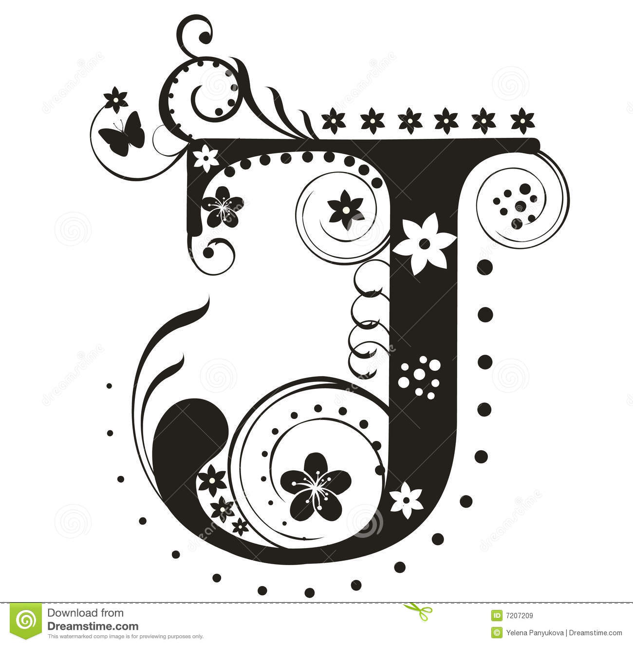 Letter J Royalty Free Stock Images