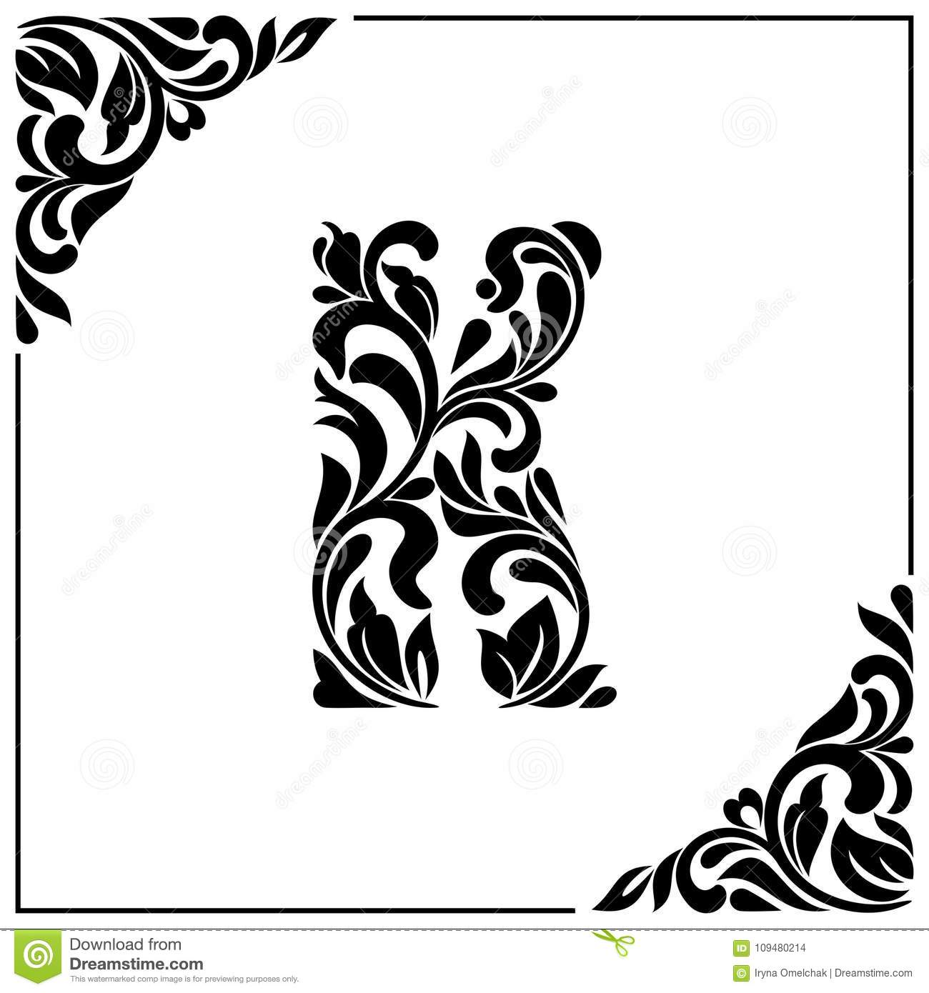 Letter K In Different Styles