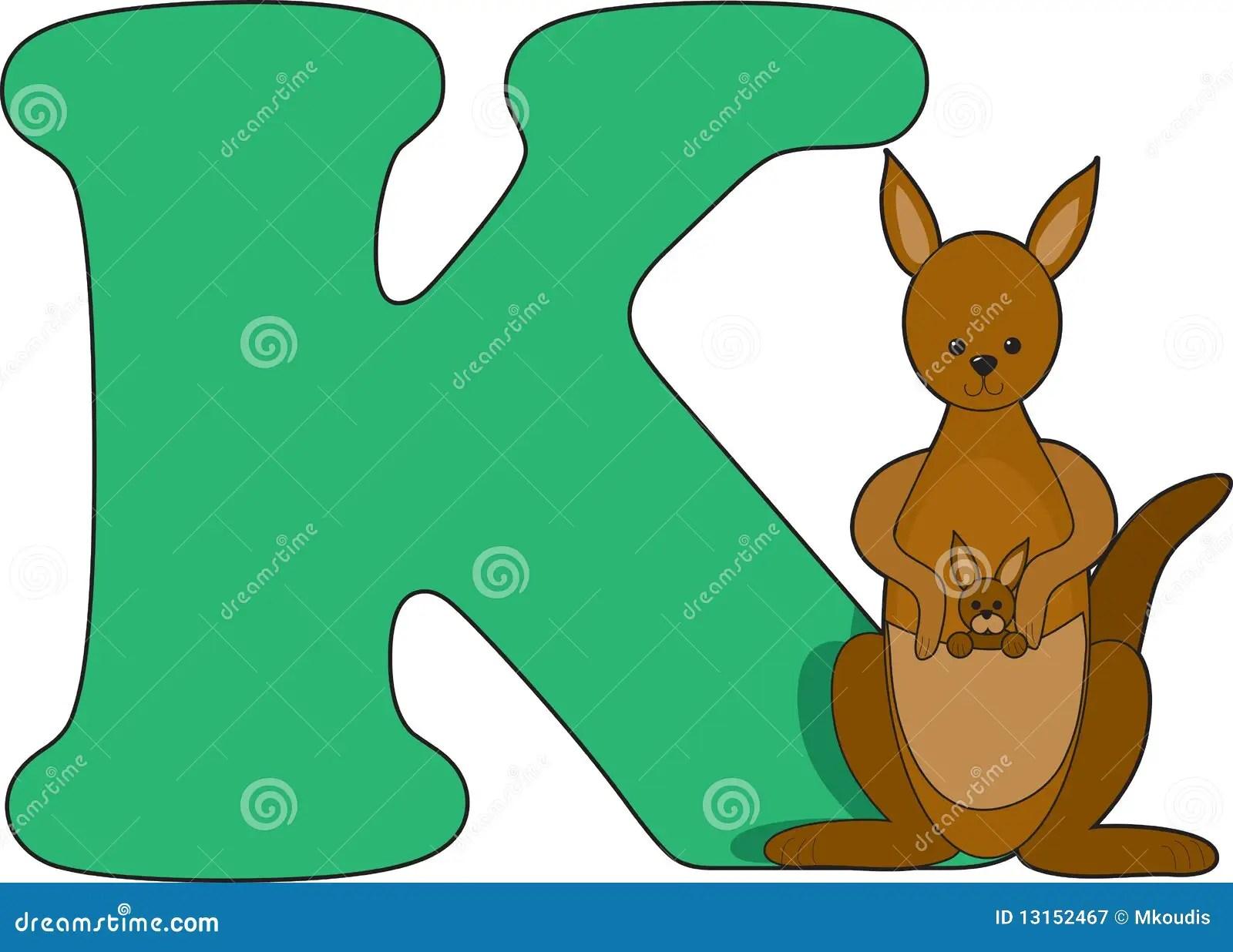 Related Keywords Amp Suggestions For Letter Kk Kangaroo
