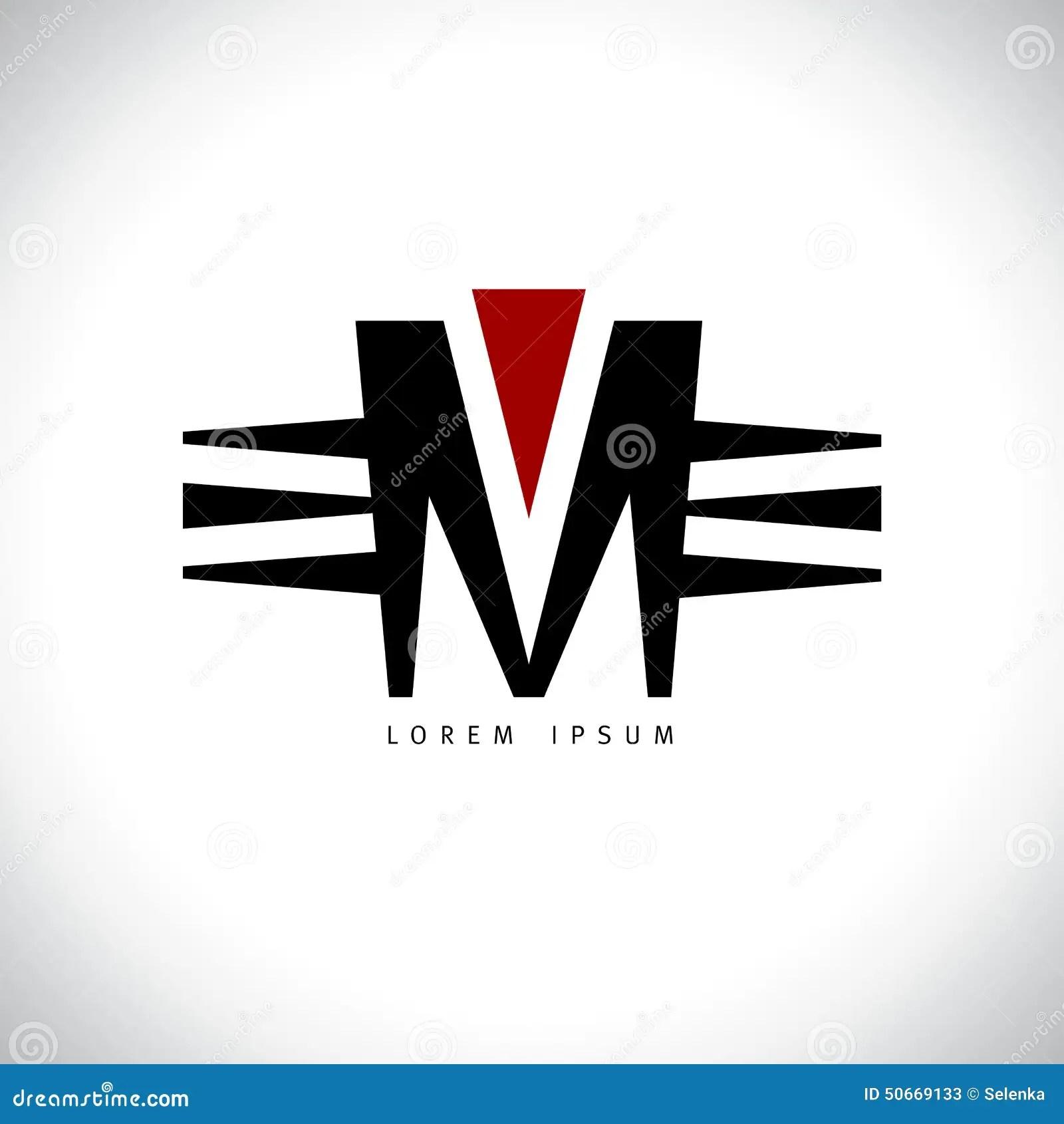 Letter M Logo. Stock Vector - Image: 50669133