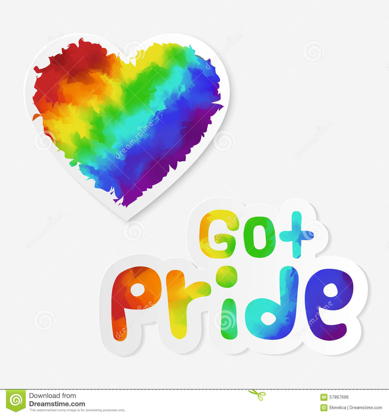 lgbt stickers stock vector