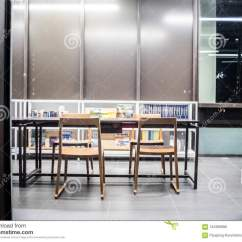 Chair Design Bangkok Farmhouse Plans June 5 Library Interior Setting With Books Table Many