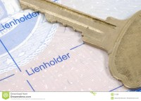 Lienholder Royalty Free Stock Images - Image: 51389