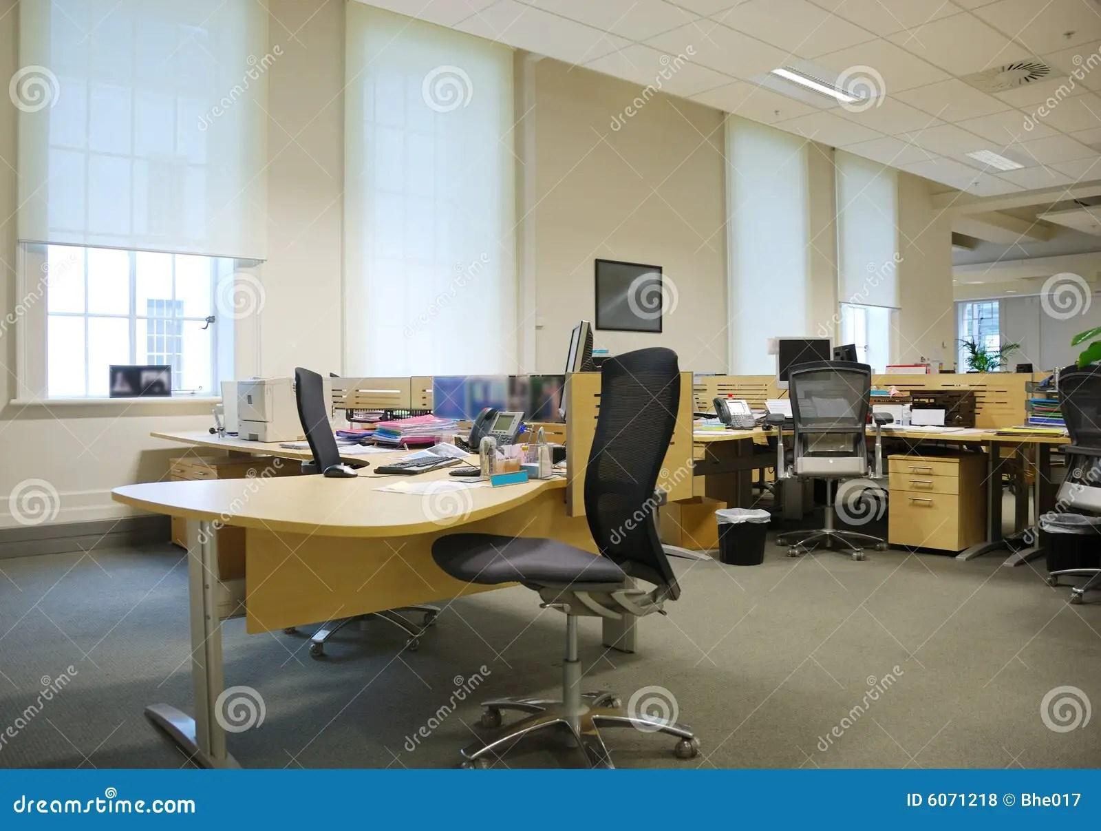 Lieu De Travail De Bureau Photo Stock Image Du Place