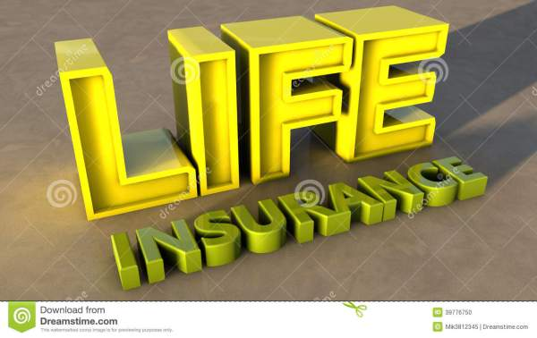 Life Insurance Stock Illustration. Illustration Of