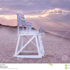 Cape Cod Beach Chair Best Budget Office Lifeguard On Stock Photo Image Of