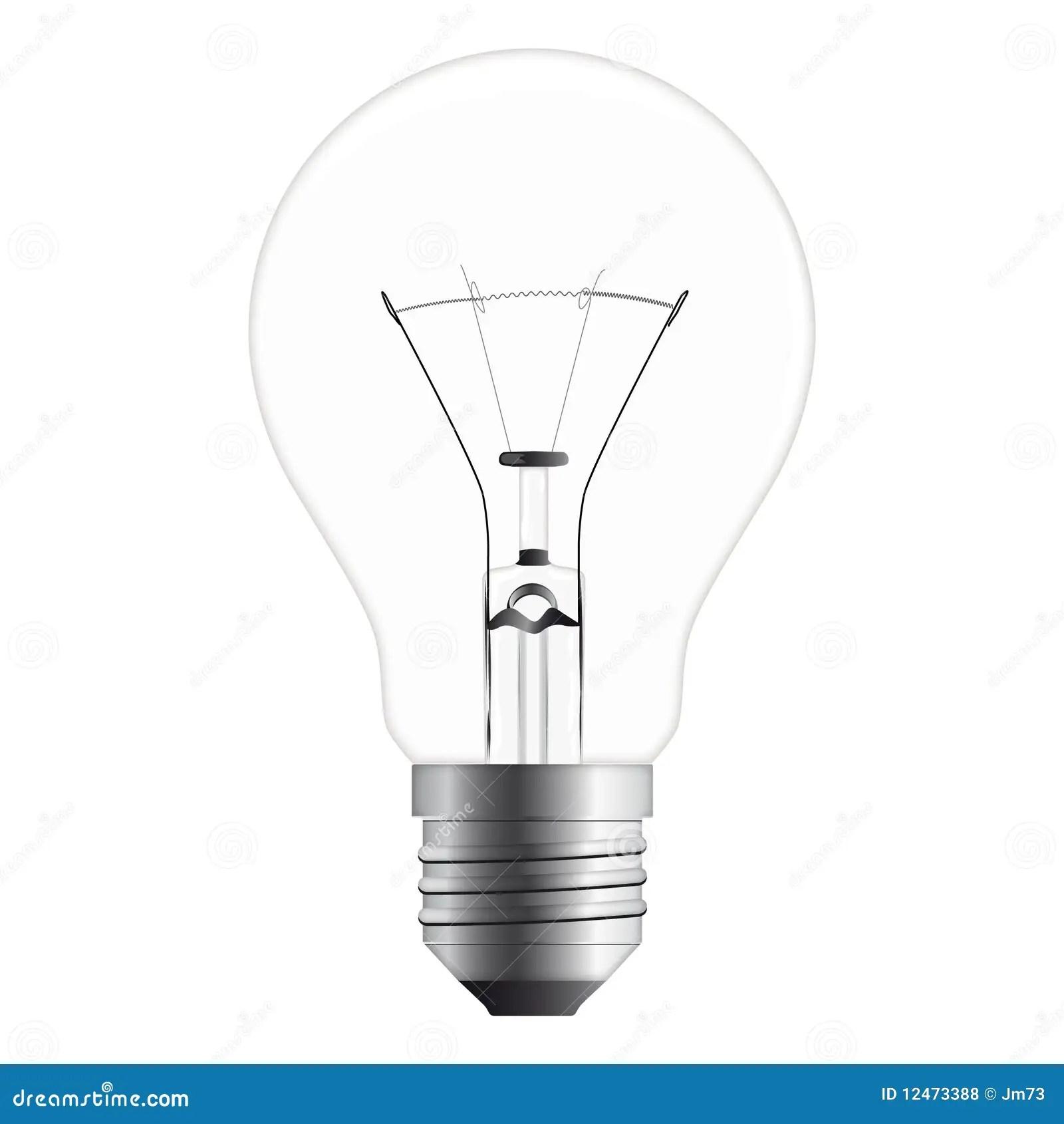 Light Bulb Stock Vector Illustration Of Light Metaphor