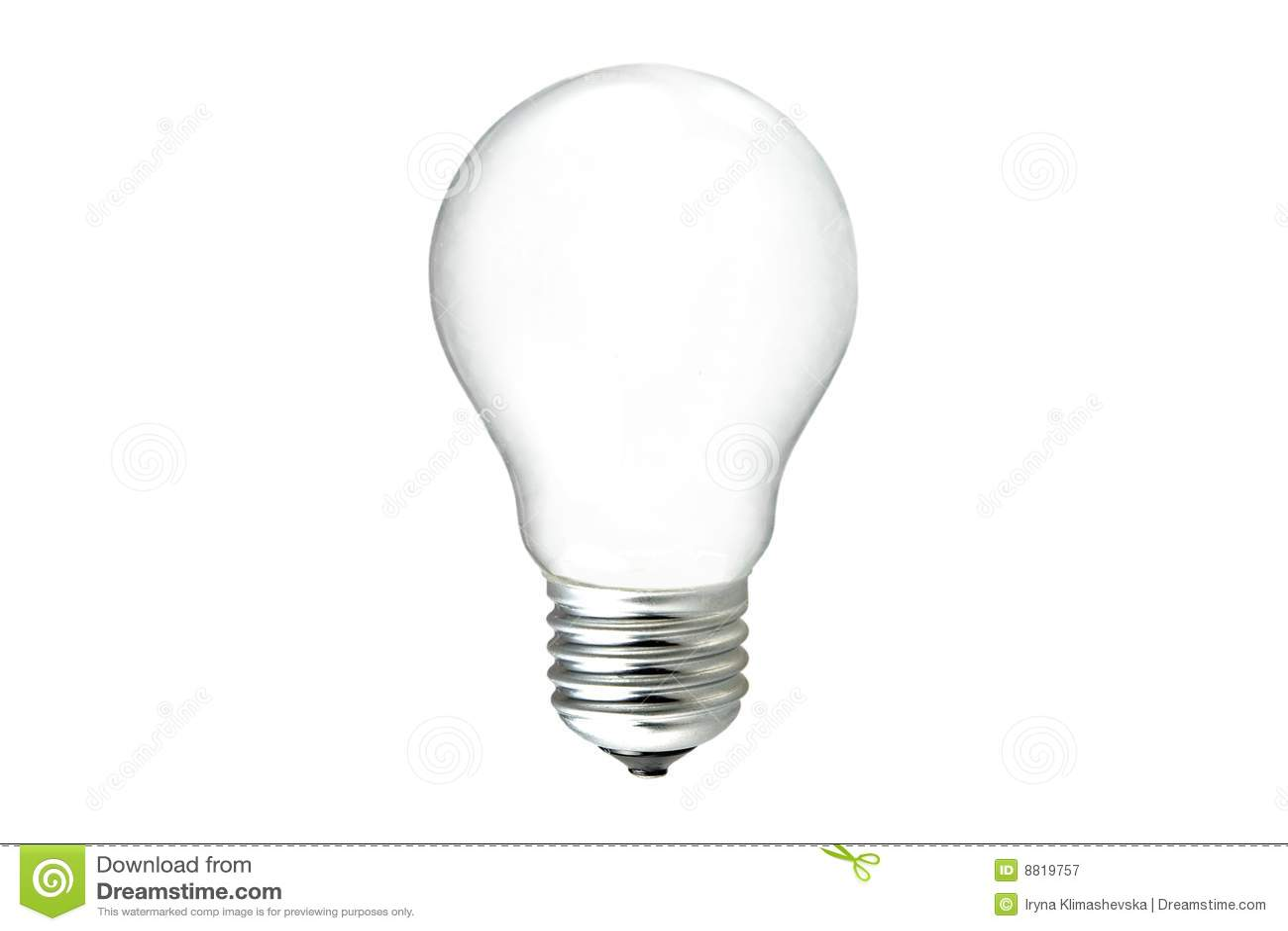 Light Bulb Stock Image Image Of Object Threads Bulb