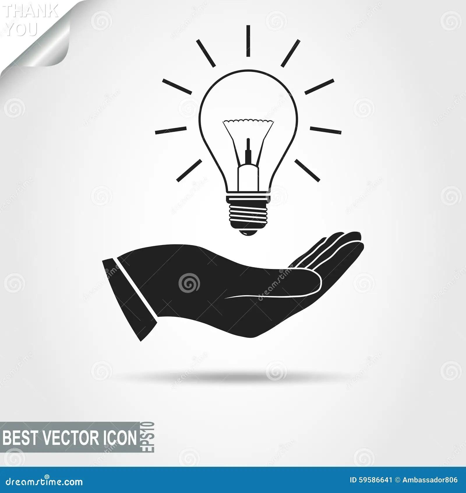 Cartoon Light Bulbs