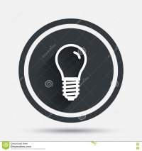 Light Bulb Icon. Lamp E14 Socket Symbol. Stock Vector ...
