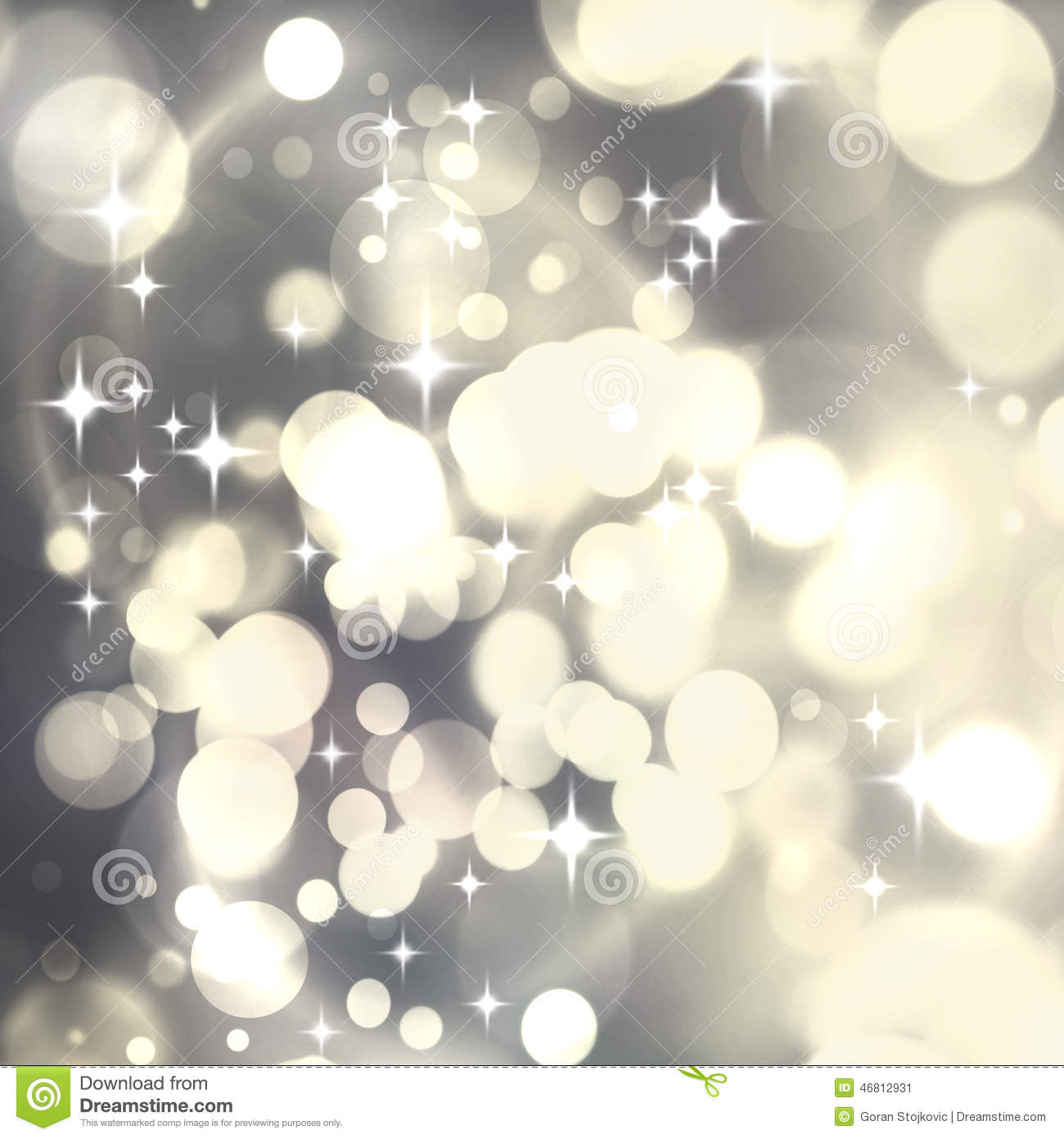 Light Silver Luxury Abstract Christmas Background With