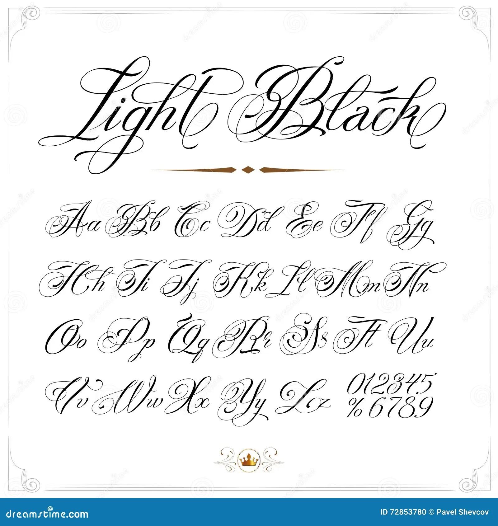 Calligraphy Unique Tattoo Fonts