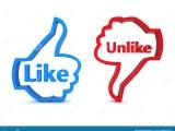 Like And Unlike Stock Illustration Illustration Of