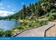 Lily Lake Rocky Mountain National Park Colorado Trail