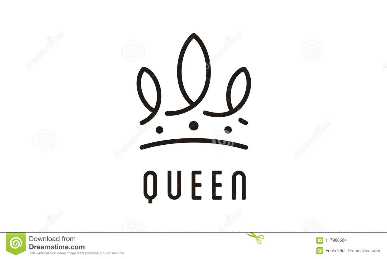 Mother Queen Bee Isolated On White Background Vector