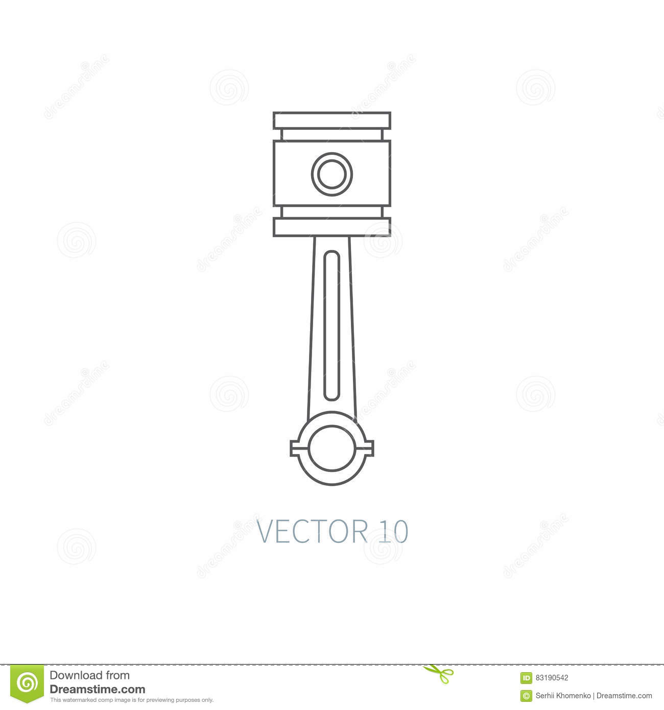 Industrial Equipment. Machine. Vector Icon. Cartoon Vector