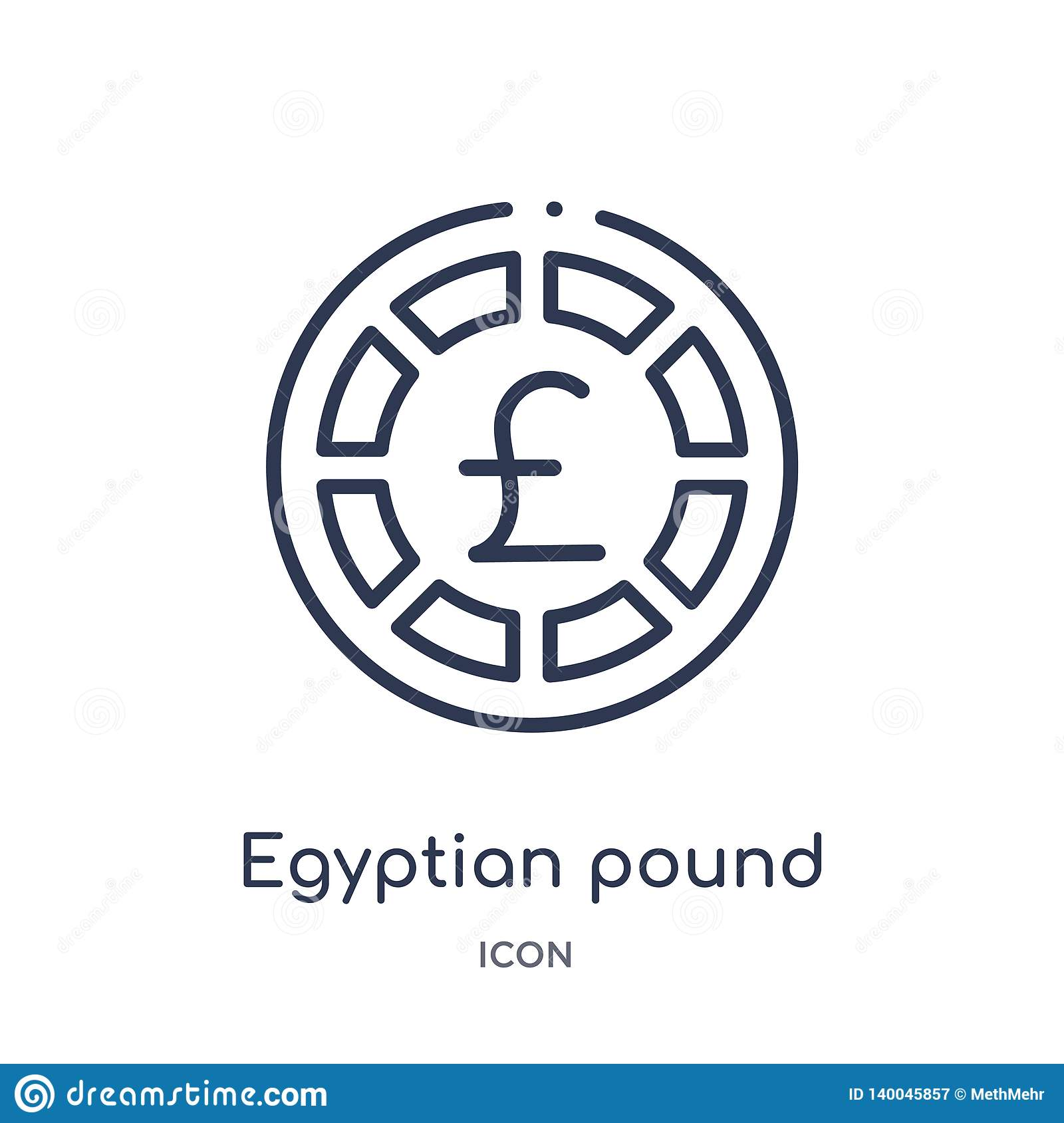 Egyptian Cartouche Outline