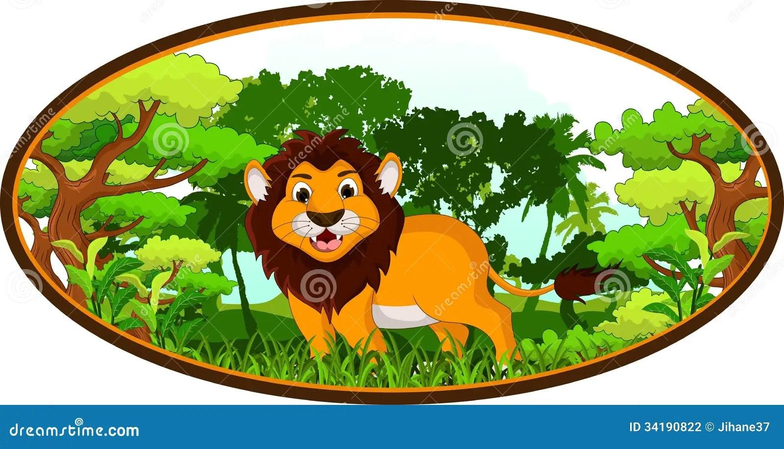 Zoo Animal Border Clip Art