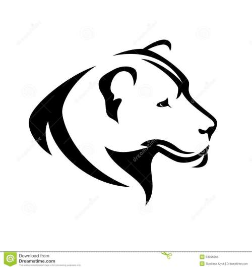 small resolution of lioness profile stock illustrations 82 lioness profile stock illustrations vectors clipart dreamstime