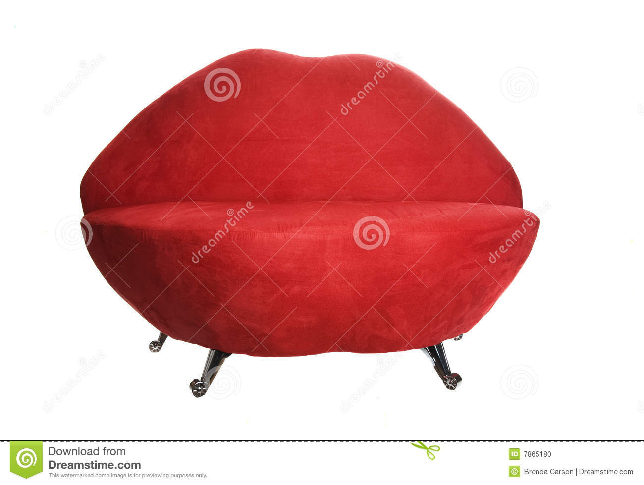 Lip Chair Lip Chair Stock Photo Image 7865180