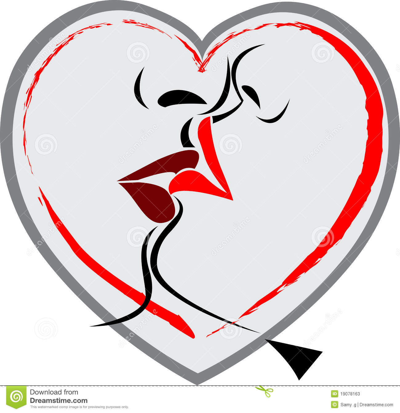 Lip Kiss Wallpapers With Quotes Lip Kiss Logo Stock Photos Image 19078163