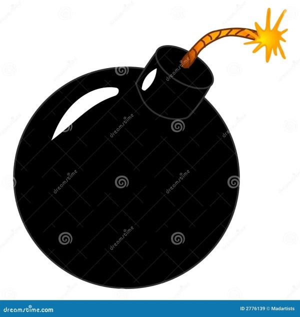 cartoon bomb