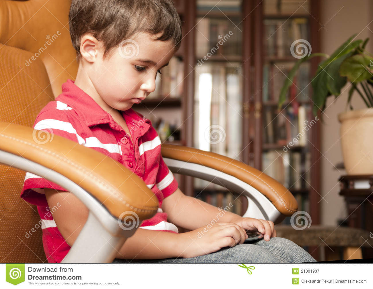 little boy chairs gaming floor chair in leather royalty free stock image