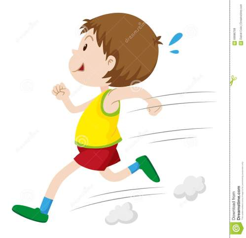 small resolution of little boy running fast
