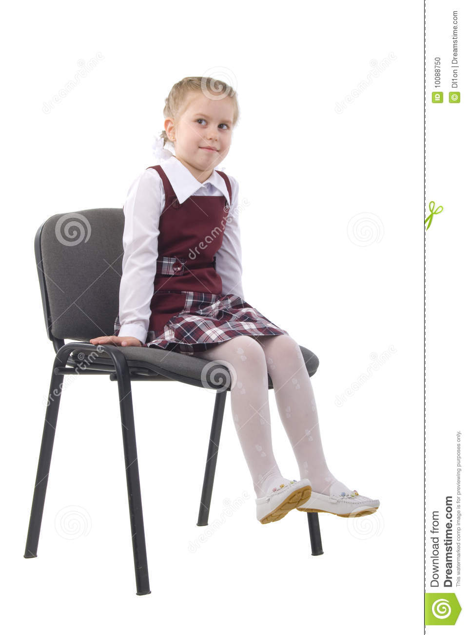 little girl chairs childs camping chair on a stock photo image of girls childhood 10088750