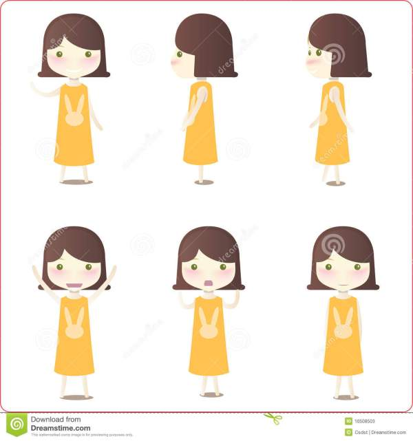 Little Girl Illustrations Stock - 10508503