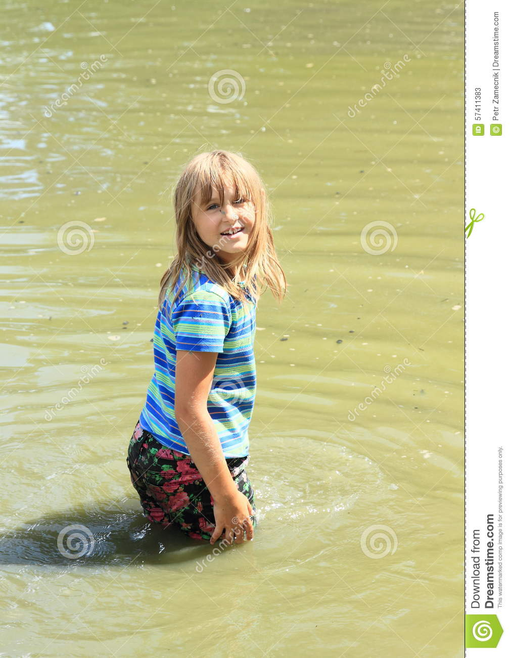 Israil Pron Young Girl Wet Clothes