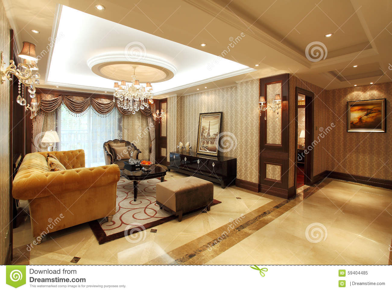 Living Room Design Sample Room Editorial Image  Image 59404485