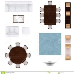 Desk Chair Plan View Unusual Tub Living Room Furniture Top Collection Stock