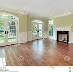 Green Living Room Walls Country Rooms Pictures With Stock Photo Image Of Interior In New Construction Home Wals