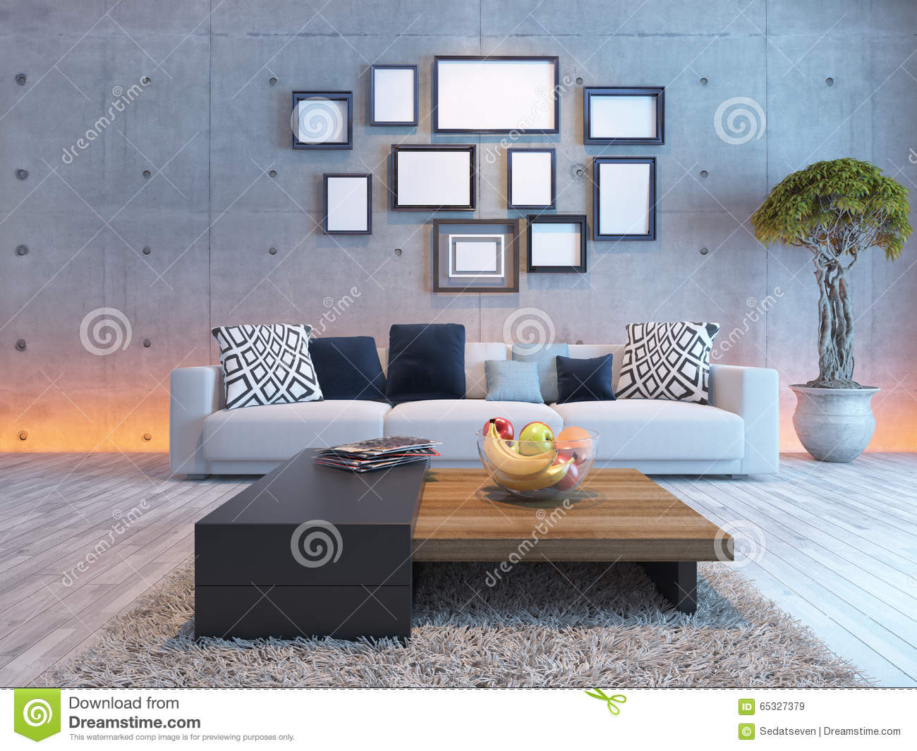 frames for living room walls old world design ideas interior with concrete wall and picture frame