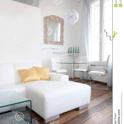 Mirror Decor In Living Room Corner Sofa Designs For Interior Design Portrait Royalty Free Stock ...