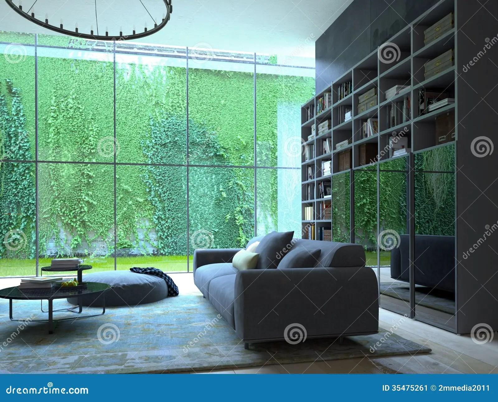 Living room stock illustration Image of light interior  35475261