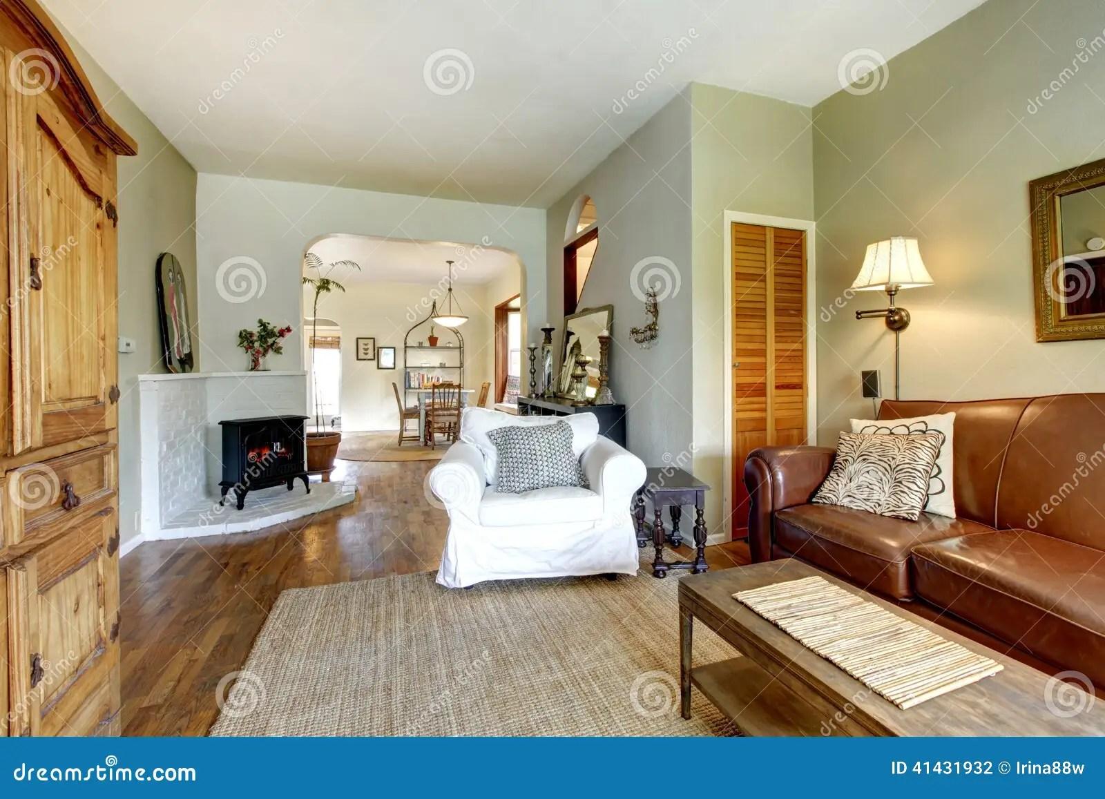 Antique White Living Room Furniture