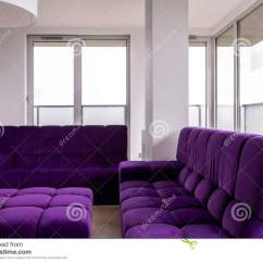 Purple Living Room Chair Kids Lawn With Furniture Stock Photo Image