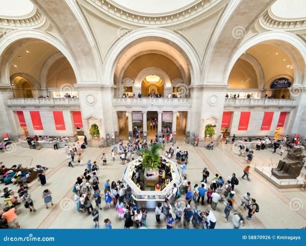 Lobby Of Metropolitan Museum Art In York
